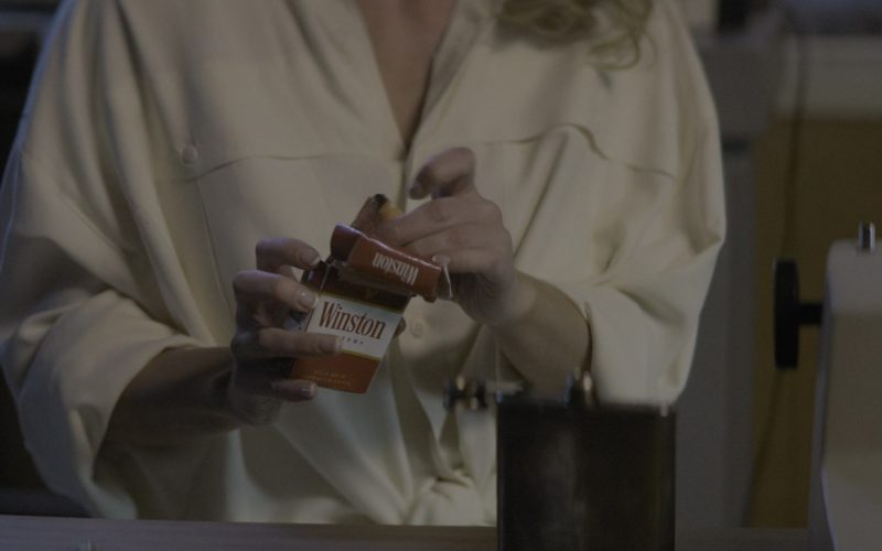 Winston Cigarettes Smoked by Actress Betty Gilpin (Debbie) in Glow Season 2 Episode 6 (3)