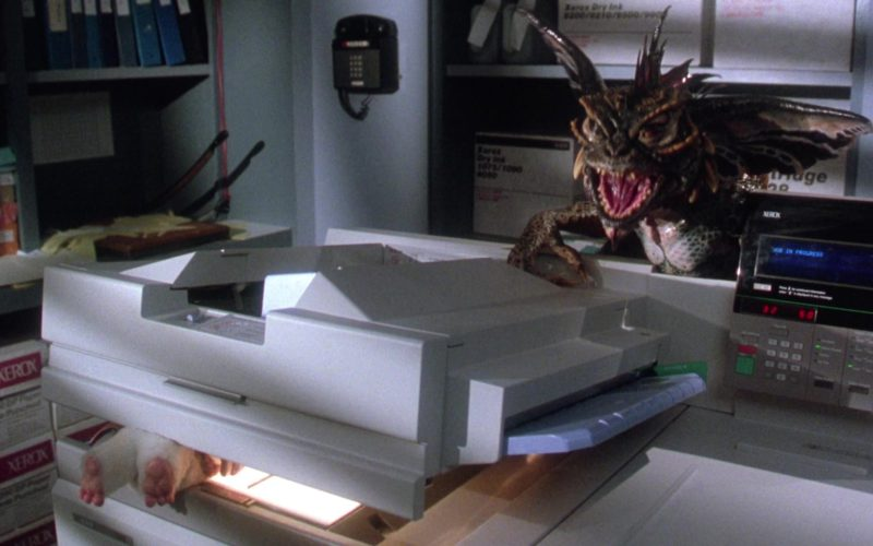 Xerox in Gremlins 2 (1)