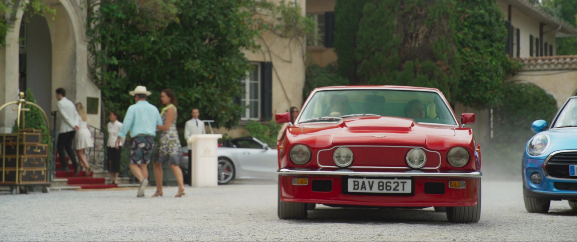 1979 Aston Martin V8 Vantage MkI Sports Car in Johnny English Strikes Again (2018) Movie