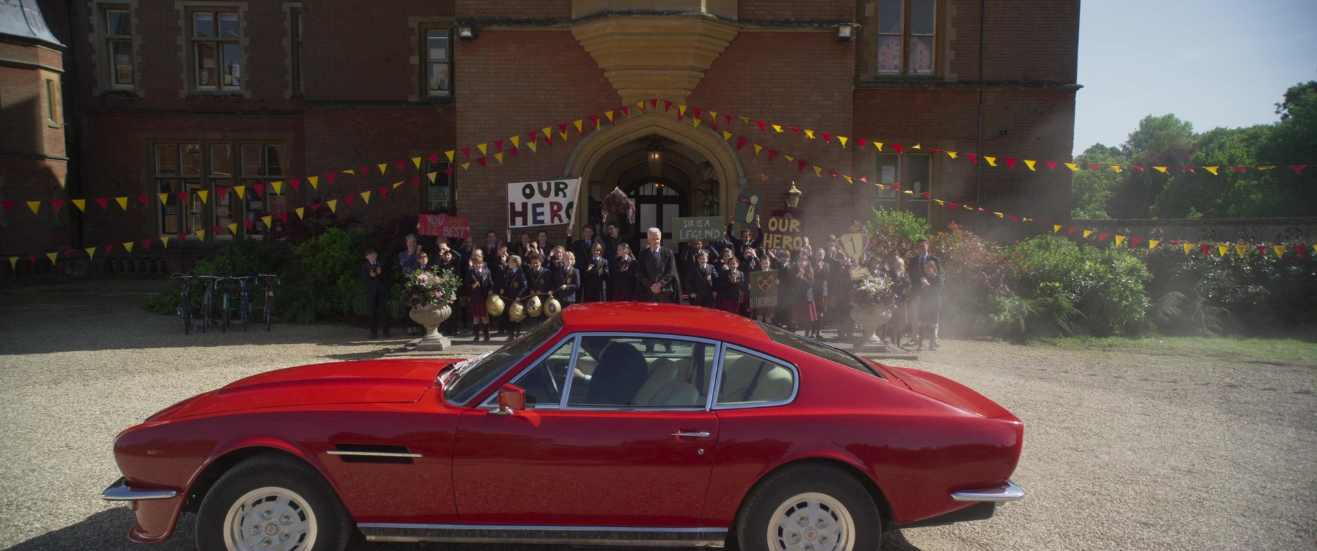 Mercedes Benz Logo >> 1979 Aston Martin V8 Vantage MkI Sports Car in Johnny English Strikes Again (2018) Movie