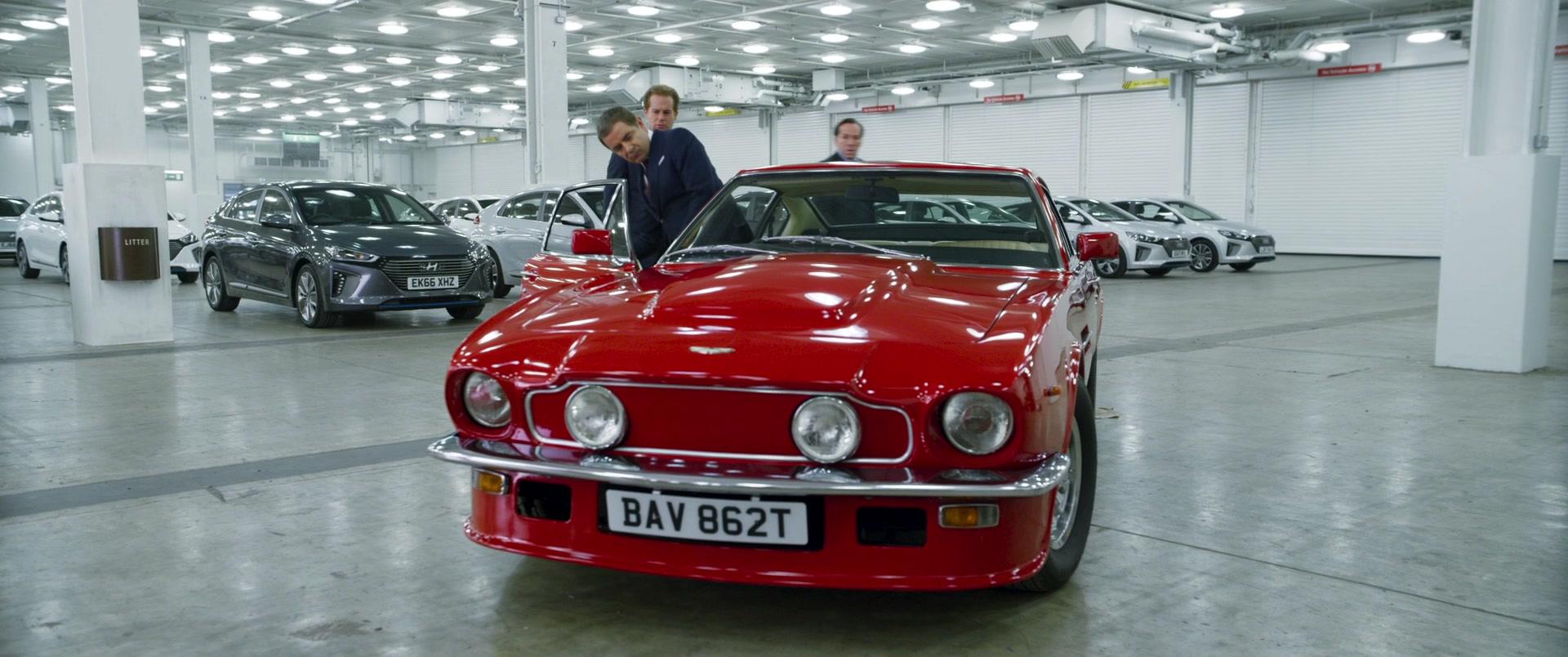 Exotic Car Brands >> 1979 Aston Martin V8 Vantage MkI Sports Car in Johnny English Strikes Again (2018) Movie