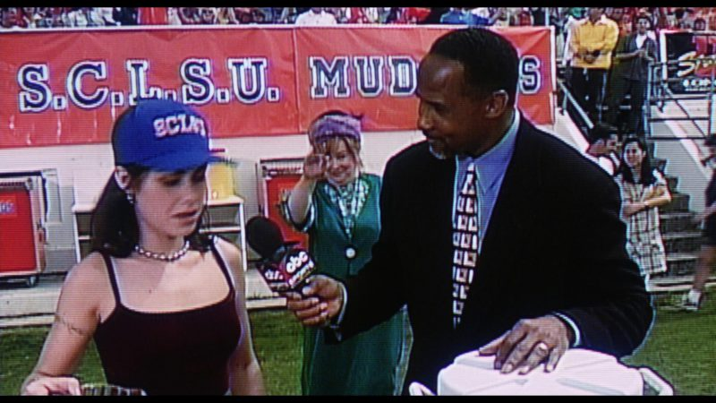 ABC Sports Television Program in The Waterboy (1998) Movie Product Placement