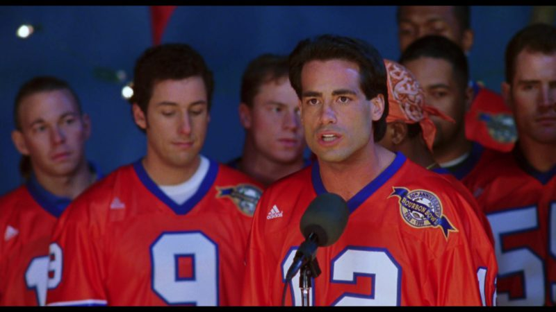 Adidas Football Red Jerseys in The Waterboy (1998) - Movie Product Placement