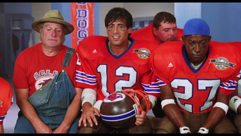Adidas Football Red Jerseys in The Waterboy (1998) Movie Product Placement