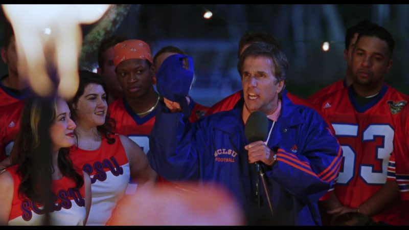Adidas Jacket Worn by Henry Winkler in The Waterboy (1998) Movie Product Placement