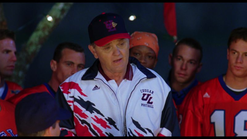 Adidas Jacket Worn by Jerry Reed in The Waterboy (1998) Movie Product Placement
