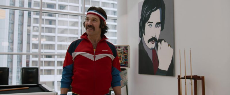 Adidas Jacket Worn by Paul Rudd in Anchorman 2: The Legend Continues (2013) - Movie Product Placement