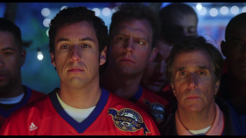 Adidas Jersey Worn by Adam Sandler in The Waterboy (1998) - Movie Product Placement