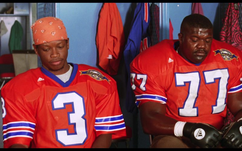 Adidas Jerseys and Football Gloves in The Waterboy (1)