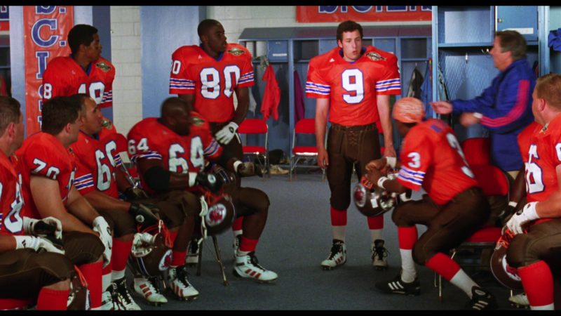 Adidas Jerseys and Football Shoes in The Waterboy (1998) Movie Product Placement