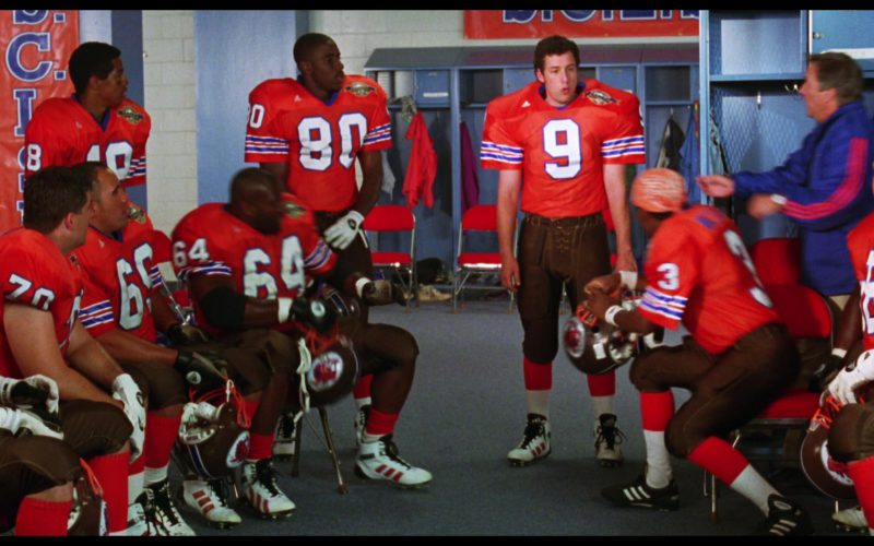 Adidas Jerseys and Football Shoes in The Waterboy