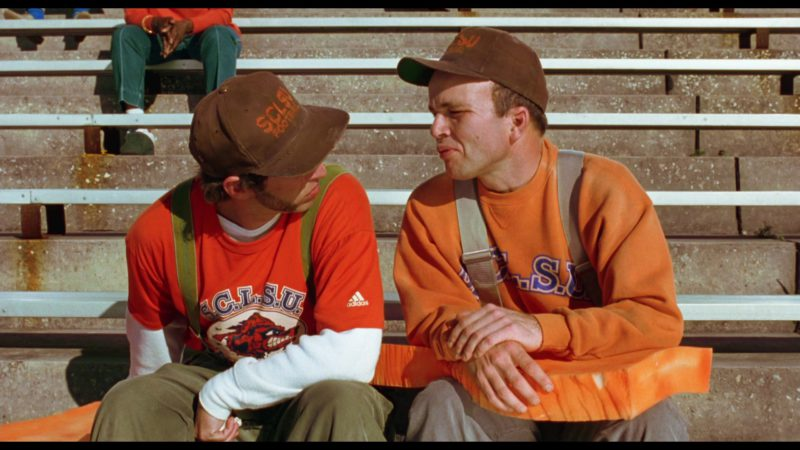 Adidas Men's Red T-Shirt in The Waterboy (1998) - Movie Product Placement