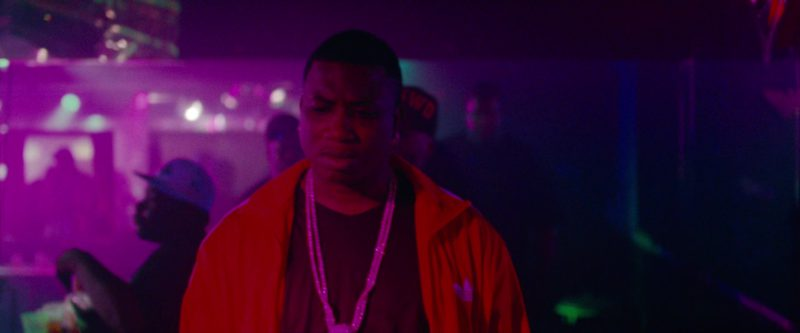 Adidas Men's Red Tracksuit Jacket in Spring Breakers (2012) Movie Product Placement