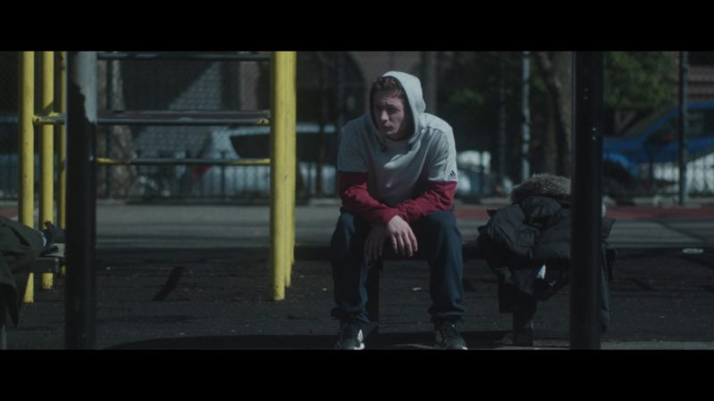 Adidas Sleeveless Hoodie Worn by Jeremy Allen White in After Everything (2018) - Movie Product Placement
