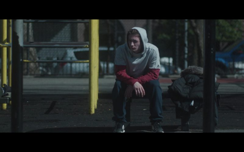Adidas Sleeveless Hoodie Worn by Jeremy Allen White in After Everything (1)