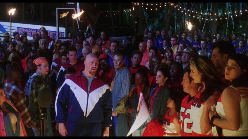 Adidas Tracksuit Jacket Worn by Big Show in The Waterboy (1998) Movie Product Placement