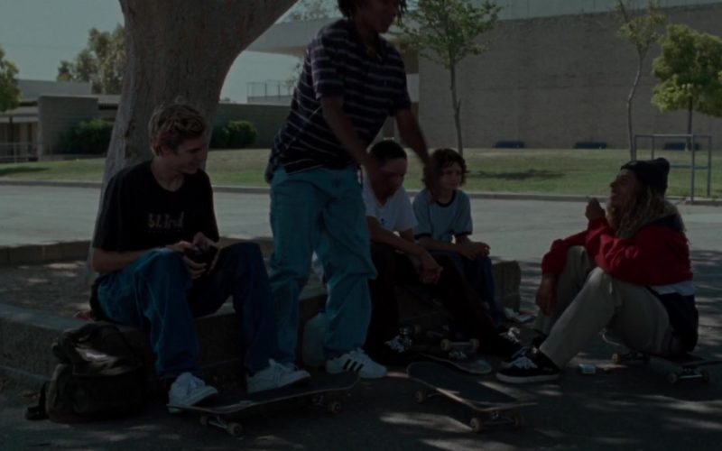 Adidas White Shoes Worn by Na-kel Smith in Mid90s