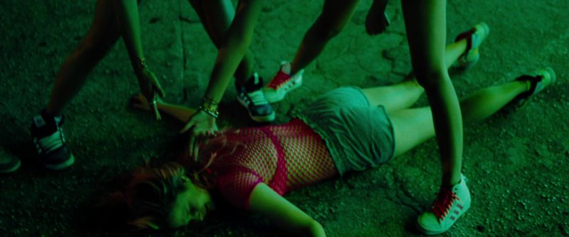 Adidas Women's Shoes in Spring Breakers (2012) Movie Product Placement