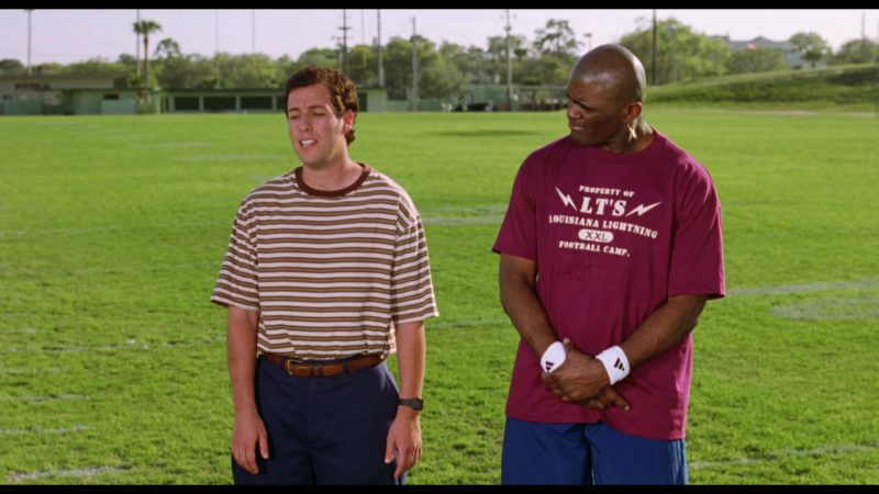 Adidas Wristbands in The Waterboy (1998) Movie Product Placement