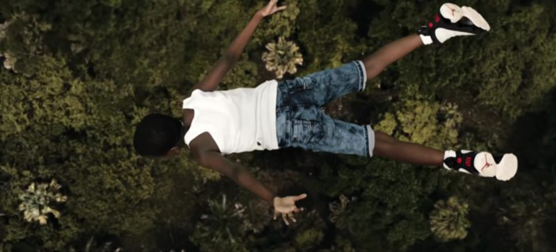 "Air Jordan Shoes in ""Yosemite"" by Travis Scott (2018) Official Music Video Product Placement"