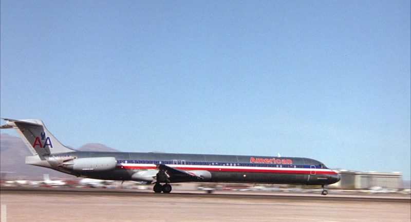 American Airlines Aircraft in Honeymoon in Vegas (1992) Movie Product Placement