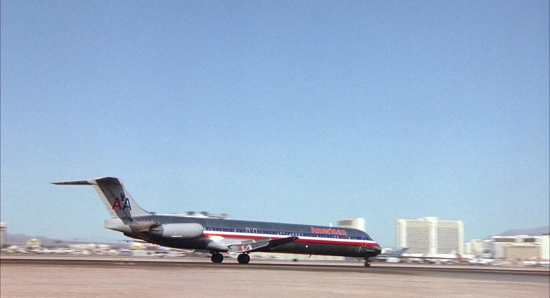 American Airlines Aircraft in Honeymoon in Vegas (1992) - Movie Product Placement