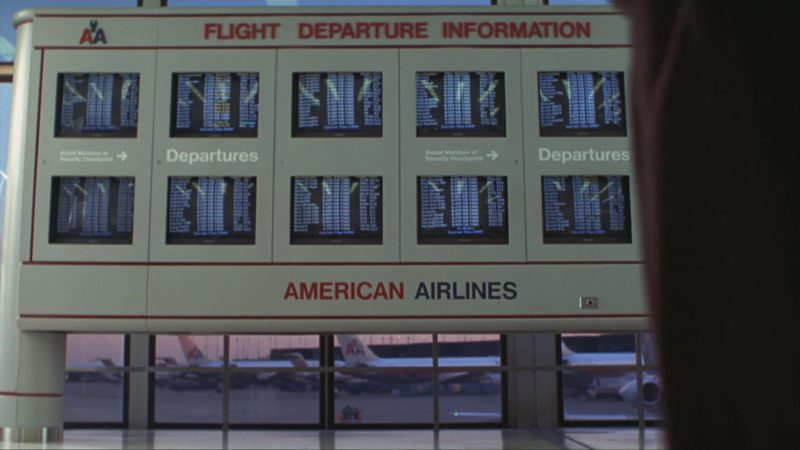 American Airlines in Home Alone 3 (1997) - Movie Product Placement