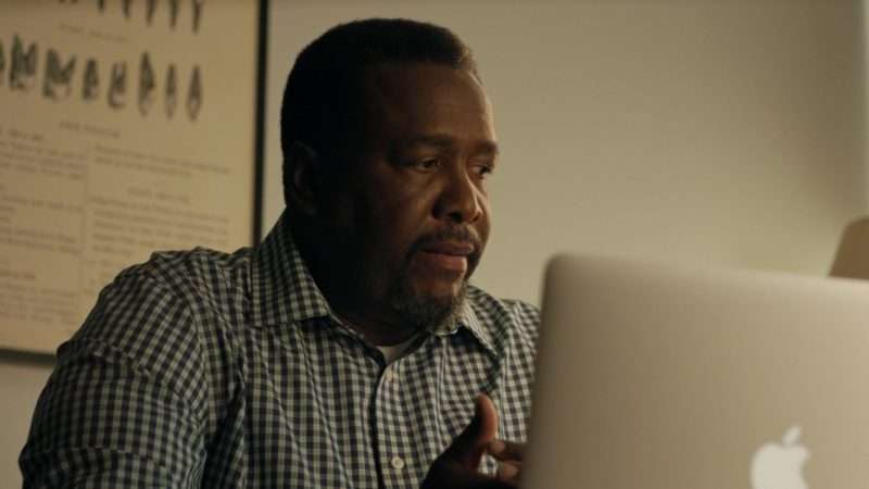 Apple MacBook Air Laptop Used by Wendell Pierce in One Last Thing (2018) Movie