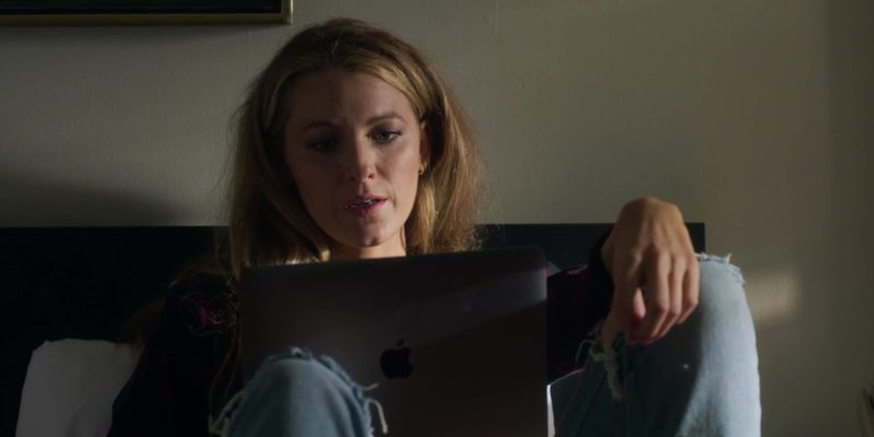 Apple MacBook Laptop Used by Blake Lively in A Simple Favor (2018) Movie Product Placement