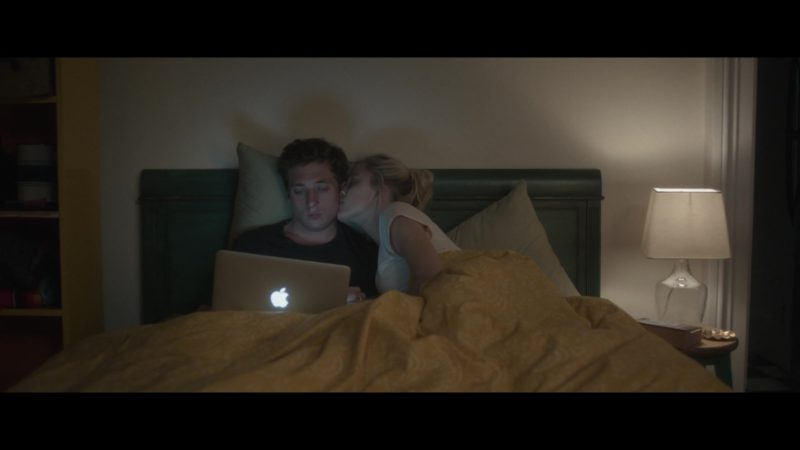 Apple MacBook Laptop Used by Jeremy Allen White in After Everything (2018) - Movie Product Placement