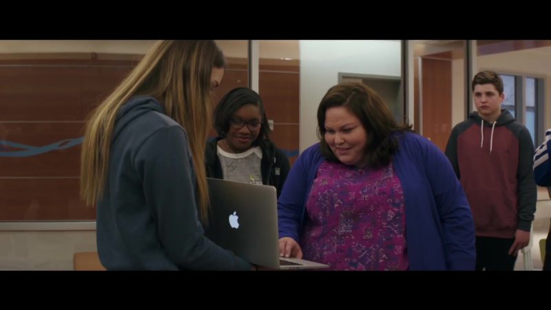 Apple MacBook Pro Laptop Used by Chrissy Metz in Breakthrough (2019) - Movie Product Placement