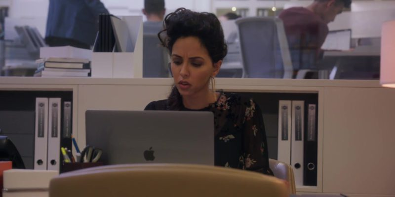Apple MacBook Pro 15-inch Laptop in A Simple Favor (2018) Movie Product Placement