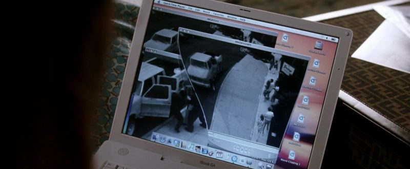 Apple iBook G4 Notebook in Miss Congeniality 2: Armed & Fabulous (2005) - Movie Product Placement