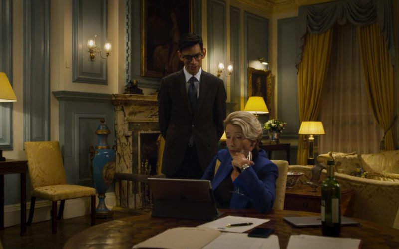 Apple iPad Tablet Used by Emma Thompson in Johnny English Strikes Again (1)