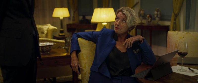 Apple iPad Tablet Used by Emma Thompson in Johnny English Strikes Again (2018) Movie