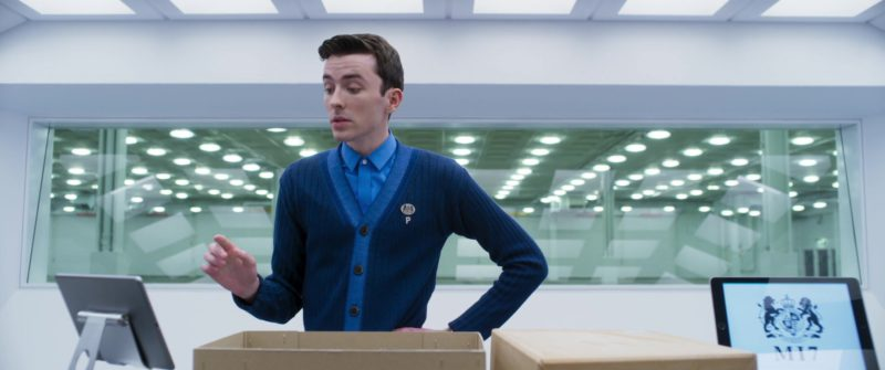 """Apple iPad """"MI7"""" Tablets in Johnny English Strikes Again (2018) Movie Product Placement"""