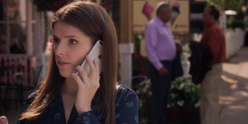 Apple iPhone Smartphone Used by Anna Kendrick in A Simple Favor (2018) - Movie Product Placement