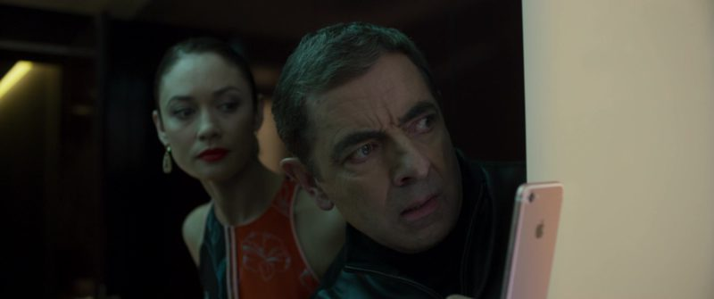 Apple iPhone Smartphone Used by Rowan Atkinson in Johnny English Strikes Again (2018) - Movie Product Placement