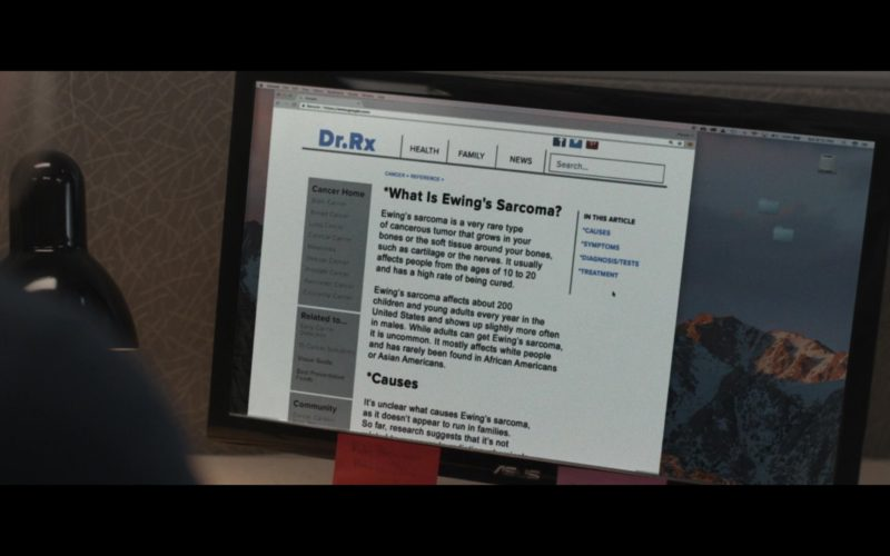 Asus Monitor Used by Maika Monroe in After Everything (1)