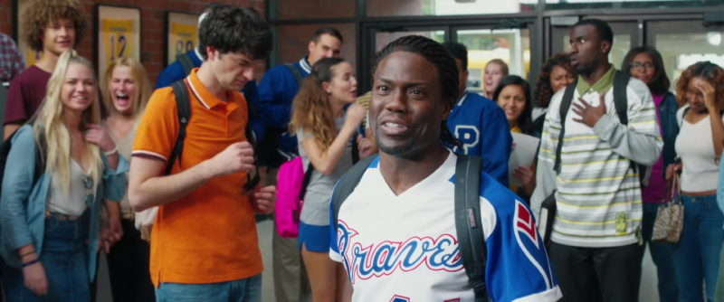 Atlanta Braves Baseball Team Jersey Worn by Kevin Hart in Night School (2018) - Movie Product Placement