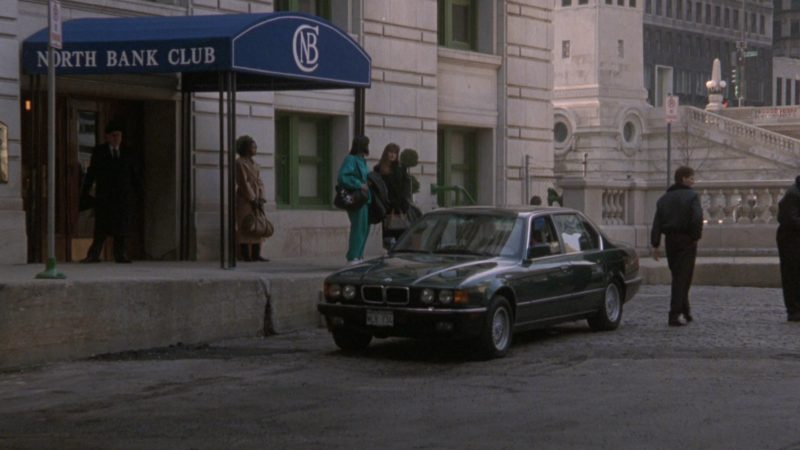 BMW 750iL [E32] Car in The Fugitive (1993) - Movie Product Placement