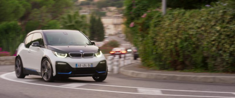 BMW I3 S [I01] Electric Car Driven by Olga Kurylenko in Johnny English Strikes Again (2018) - Movie Product Placement
