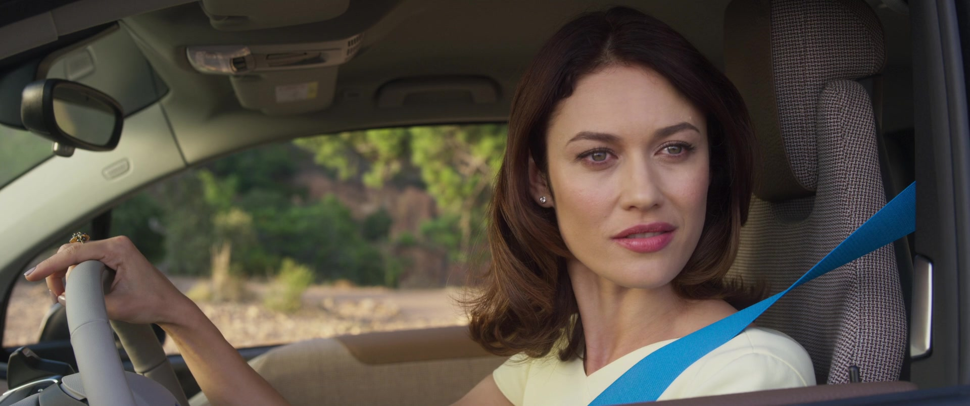 Bmw I3 S I01 Electric Car Driven By Olga Kurylenko In