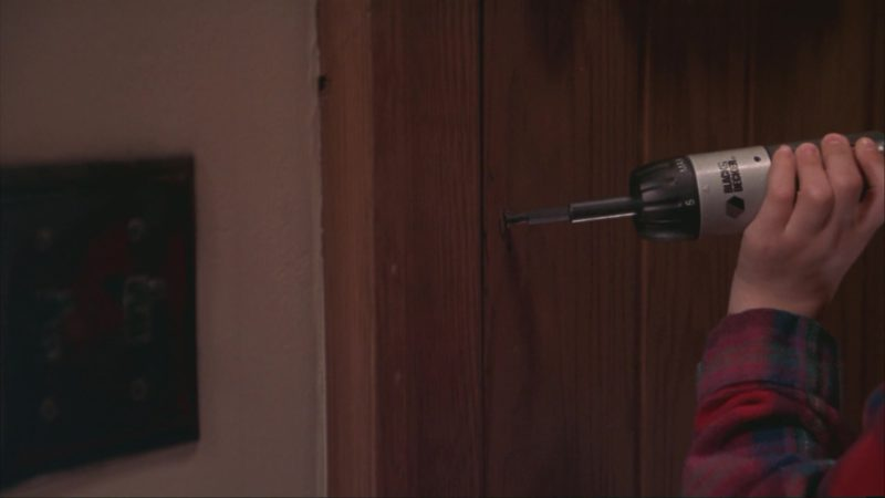 Black&Decker Drill in Home Alone 3 (1997) Movie Product Placement