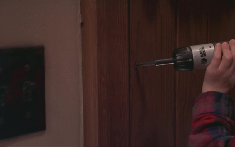 Black&Decker Drill in Home Alone 3