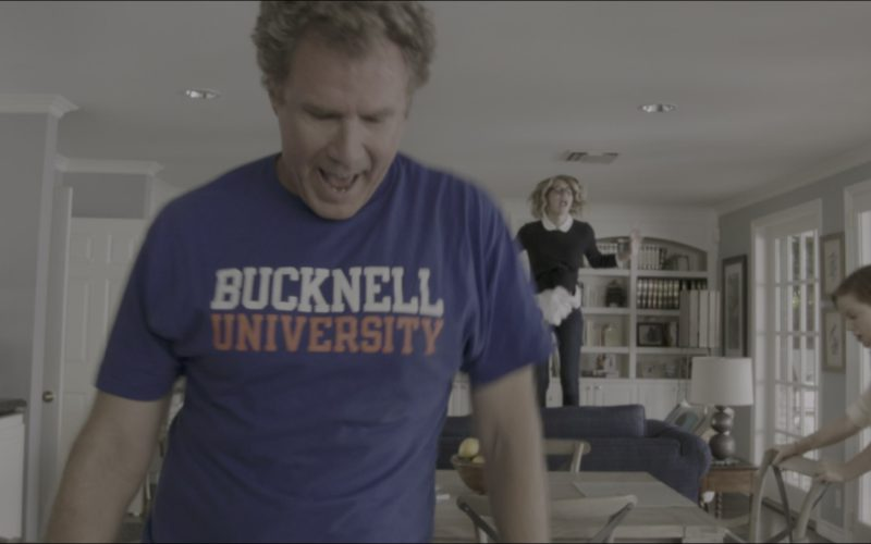 Bucknell University T-Shirt Worn by Will Ferrell in The House (2)