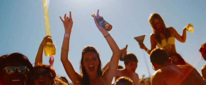 Bud Light Beer in Spring Breakers (2012) Movie Product Placement