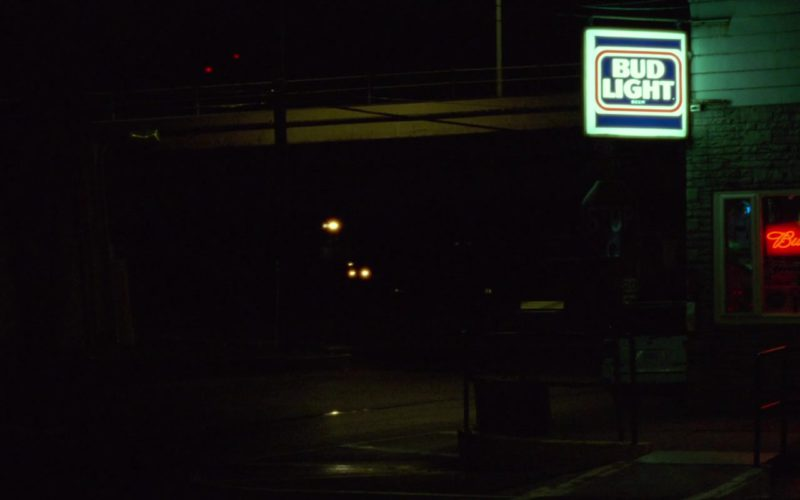 Bud Light and Budweiser Signs in Mississippi Grind