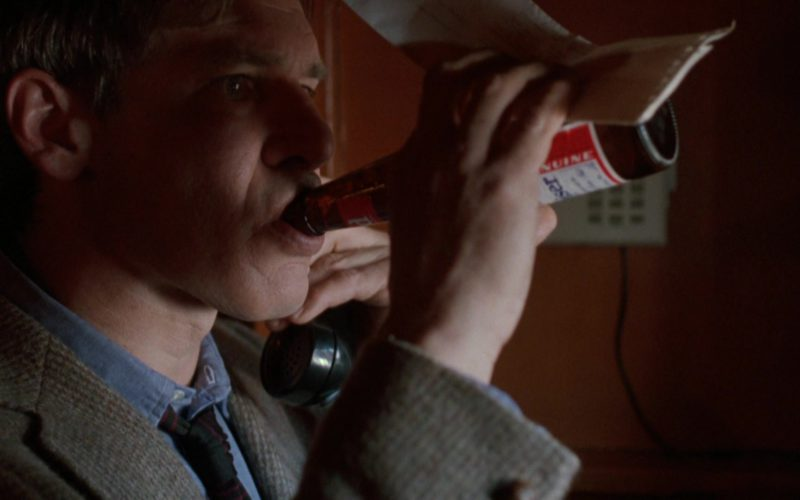 Budweiser Beer Drunk by Harrison Ford in The Fugitive (2)