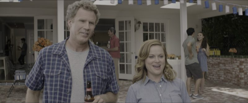 Budweiser Beer Drunk by Will Ferrell in The House (2017) - Movie Product Placement